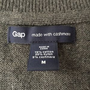 GAP Sweaters - NEW high quality grey v neck sweater